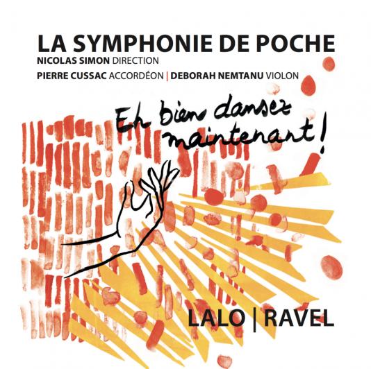 Pochette de l'album«Eh bien dansez maintenant !»,par La Symphonie de Poche.