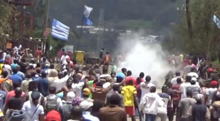 Le 1er octobre 2017, les habitants de Bamenda et Buéa, capitales régionales des deux régions anglophones du Nord-Ouest et du Sud-Ouest ont proclamé l'indépendance sylmbolique d'Ambazonie, faisant sécession avec le reste du Cameroun. (Capture d'écran)