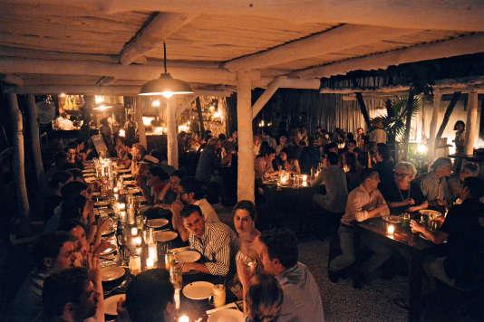 Le restaurant Hartwood.