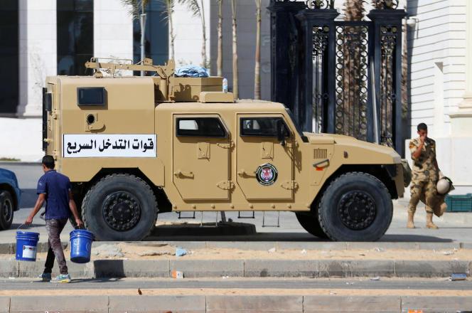 Le groupe Hasm est responsable de plusieurs attaques contre des magistrats et des policiers l'an dernier au Caire.