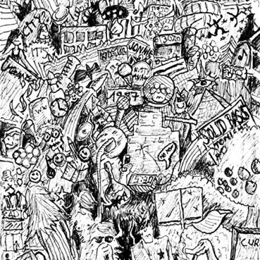 Pochette de l'album«Sofarnopolis», deMatias Aguayo & The Desdemonas.
