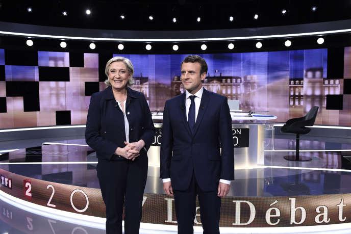 Marine Le Pen tente toujours de conjurer le fiasco du débat de la  présidentielle 6360230cc572
