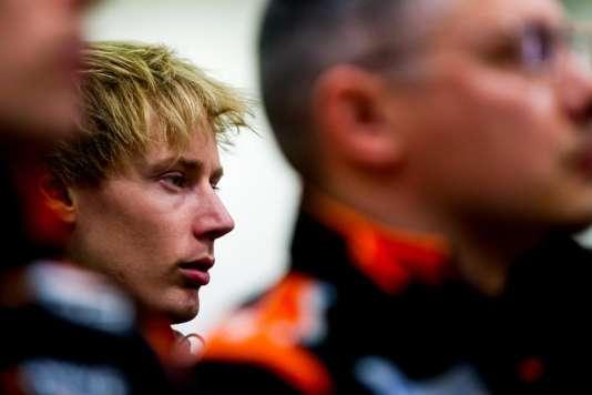 Le pilote néo-zélandais Brendon Hartley a surtout une expérience en endurance (icilors des 6 Heures de Spa, en mai).