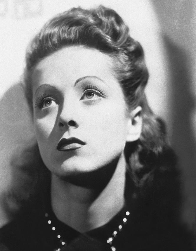 Danielle Darrieux, décédée le 17 octobre à l'âge de 100 ans, àBois-le-Roi.