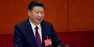 «La capitalisation boursière des seuls Alibaba et Tencent équivaut déjà à la totalité de la capitalisation boursière de l'Amérique latine» (Photo: discours du président chinois Xi Jinping lors du 19e congrès du Parti communiste chinois, à Pékin, le 18 octobre).