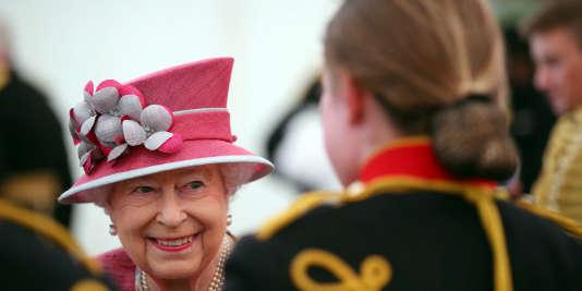La reine Elizabeth II, le 19 octobre à Londres.