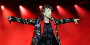 Mick Jagger à l'U Arena jeudi 19 octobre.