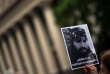 Une manifestante demande« Où est Santiago Maldonado ?», à Buenos Aires, le 18 octobre.