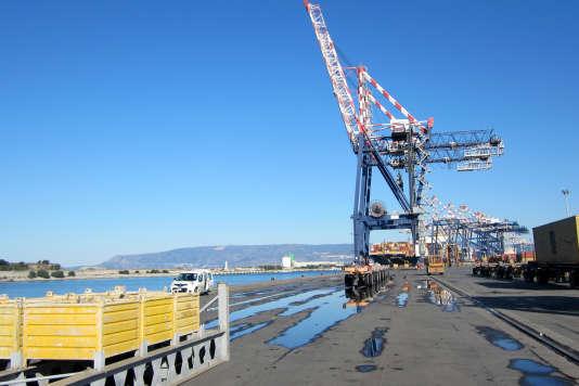 Le port de Gioia Tauro, en Italie.
