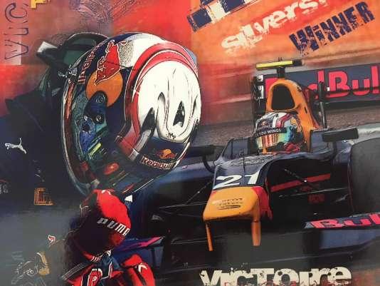 Tableau réalisé par Pascale Gasly, mère de Pierre, champion 2015 en GP2 (devenu formule2).
