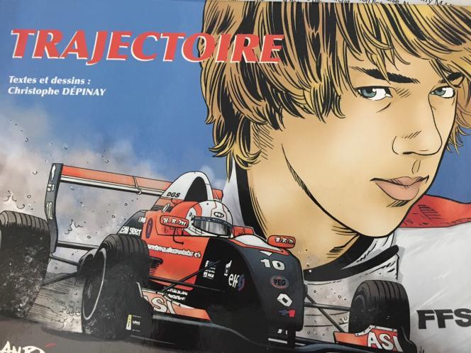 «Trajectoire», tome I de la BD retraçant la jeune carrière du pilote de F1 Pierre Gasly, sort enseptembre2013. Le tome II est prévu pour décembre.