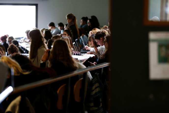 A l'université de Mont-Saint-Aignan (Seine-Maritime), le 11 octobre.