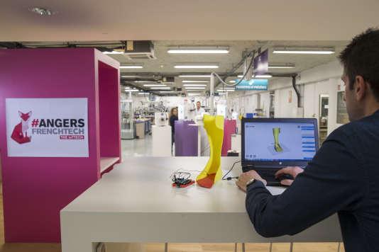 La Cité de l'objet connecté d'Angers est un espace de développement de prototypes à disposition des start-up.