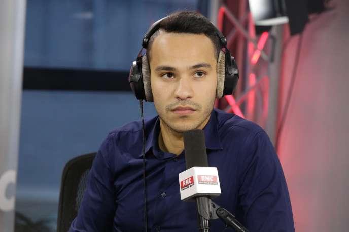 Mohamed Bouhafsi à Paris, le 26 février 2016.