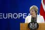La première ministre britannique Theresa May, à Bruxelles, vendredi 20 octobre.