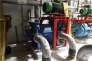 Une pompe à vide, un des lots de l'ex-usine UPM qui seront mis en vente le 24 octobre.