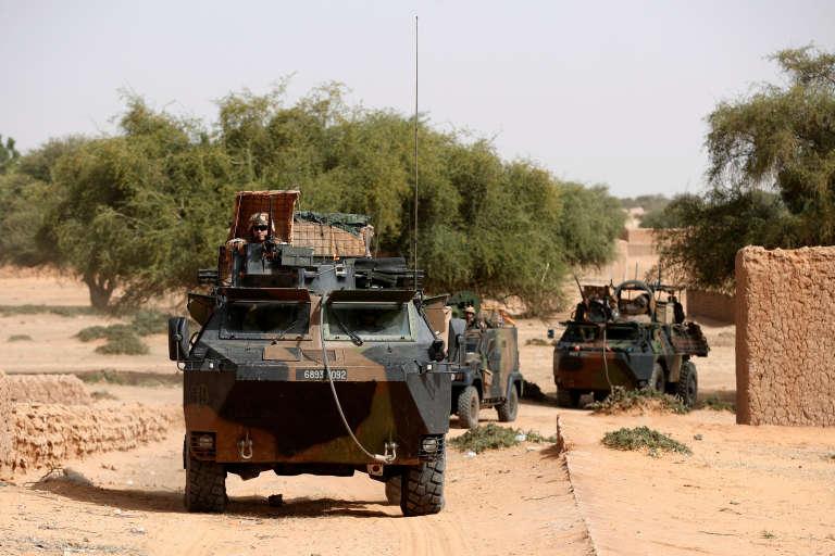 Des soldats français de l'opération «Barkhane» à Tin Hama, au Mali, le 19 octobre 2017.