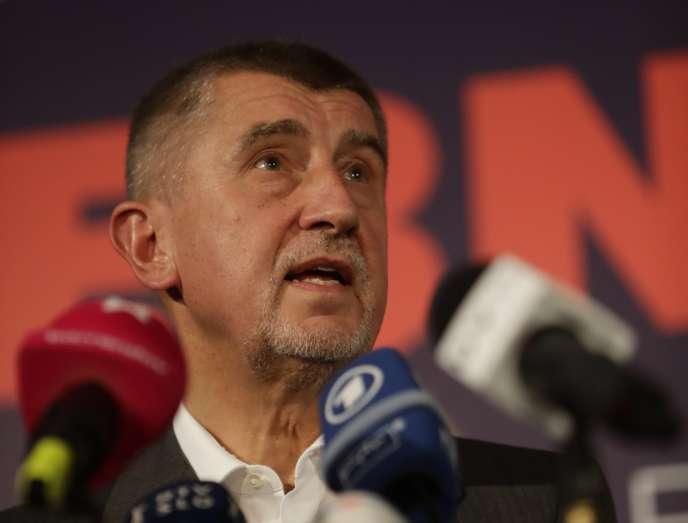 Le milliardaire Andrej Babis a largement remporté les élections législatives, le 21 octobre.