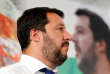 Le patron de la Ligue du Nord Matteo Salvini lors d'une conférence de presse à Milan, le 26 juin.