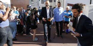 Le premier ministre, Edouard Philippe, au Havre (Seine-Maritime), lors du second tour des législatives, en juin.