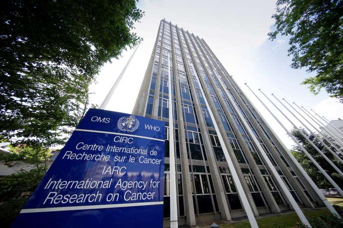 Le siège du Centre international de recherche sur le cancer, à Lyon, en 2017.