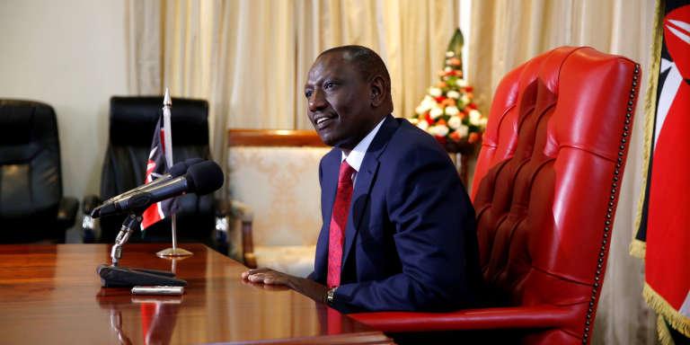 William Ruto, le vice-président kényan, à Nairobi, le 17 octobre 2017.