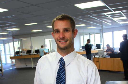 Sébastien Bourdin, enseignant-chercheur en développement durable à l'EM de Normandie.