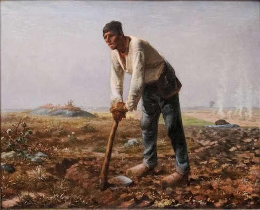 « L'Homme à la houe », de Jean françois Millet (vers 1860-1862.)