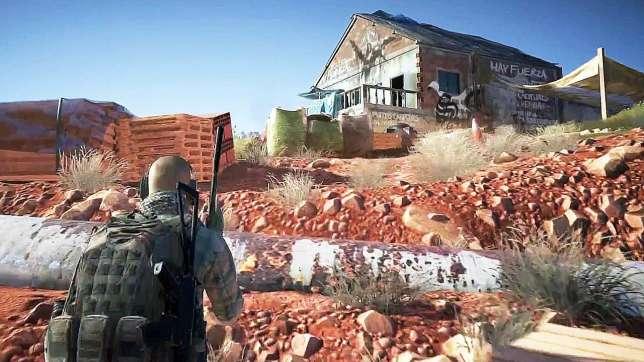Pour le jeu d'action« Ghost Recon : Wildlands», Ubisoft a fait un repérage sur le terrain avec des spécialistes.