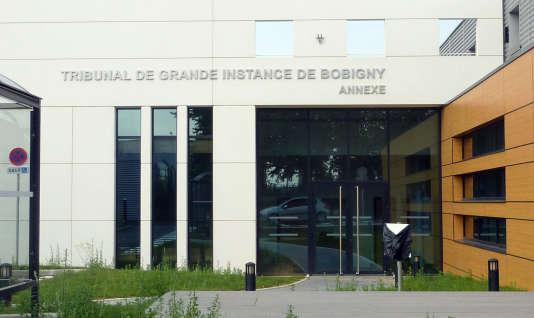 Annexe du tribunal de grande instance de Bobigny, près de l'aéroport Roissy-Charles-de-Gaulle, le 28 août 2013.
