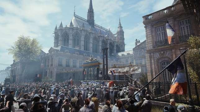 Les drapeaux français anachroniques de« Assassin's Creed Unity» sont une concession aux joueurs américains.