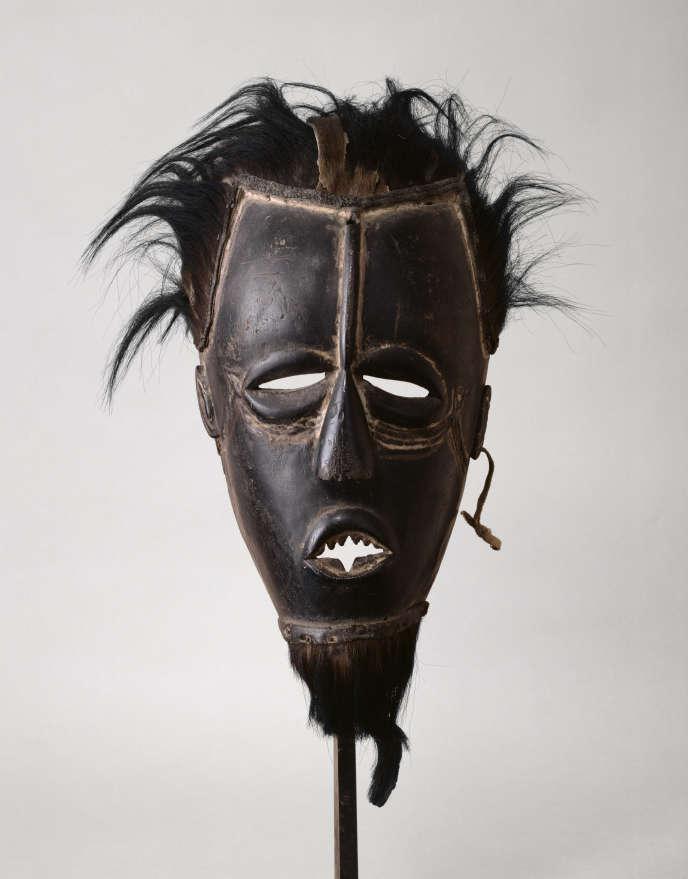 Masque anthropomorphe, Bête-Gouro, début du XXesiècle. Artiste Inconnu.
