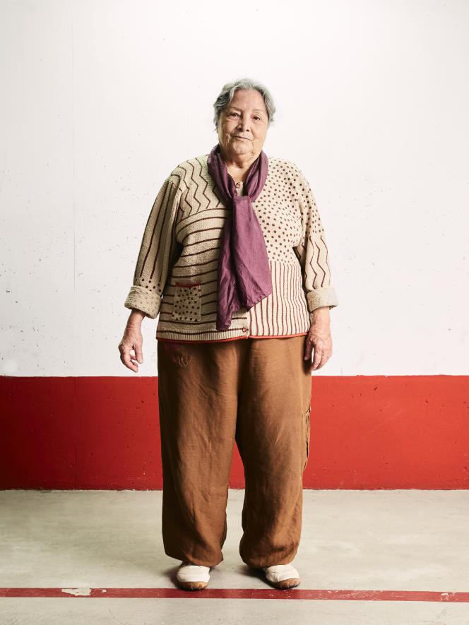 L'anthropologue Jeanne Favret-Saada, 2017.