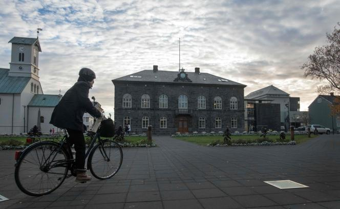 L'Althingi, le Parlement islandais, à Reykjavik.