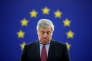 European Parliament's President Antonio Tajani arrives to attend a minute of silence in tribute to late Maltese journalist Daphne Caruana Galizia during a plenary session at the European Parliament in Strasbourg, France, October 24, 2017. REUTERS/Christian Hartmann TPX IMAGES OF THE DAY