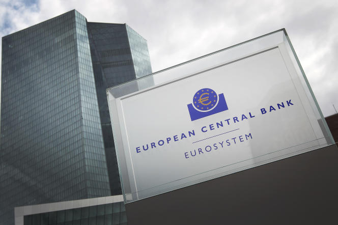 Le siège de la Banque centrale européenne, à Francfort (Allemagne).
