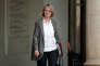 La ministre de la Culture, Françoise Nyssen, à l'Elysée, le 25 octobre. Le gouvernement a annoncé au «Monde» qu'il va « sécuriser» la taxe que perçoit le Centre national du cinéma et de l'image animée.