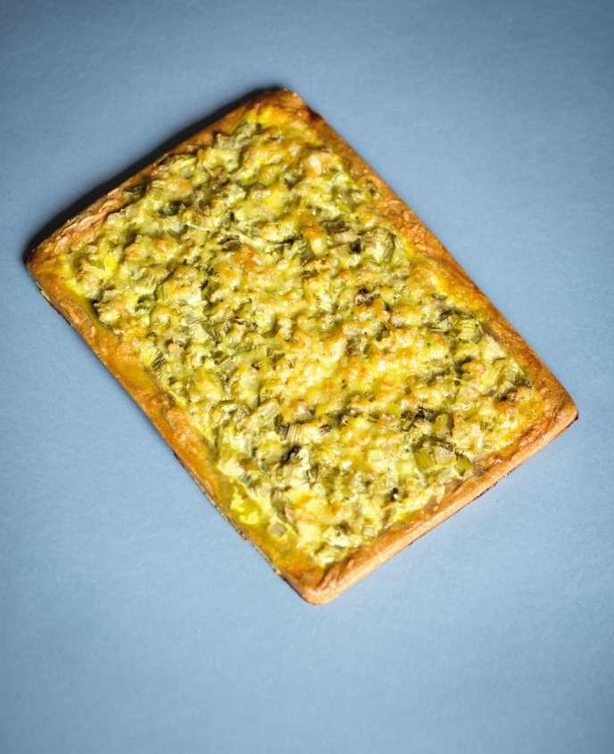 La tarte au petit épeautre et céleri branche de Jean-Philippe de Tonnac