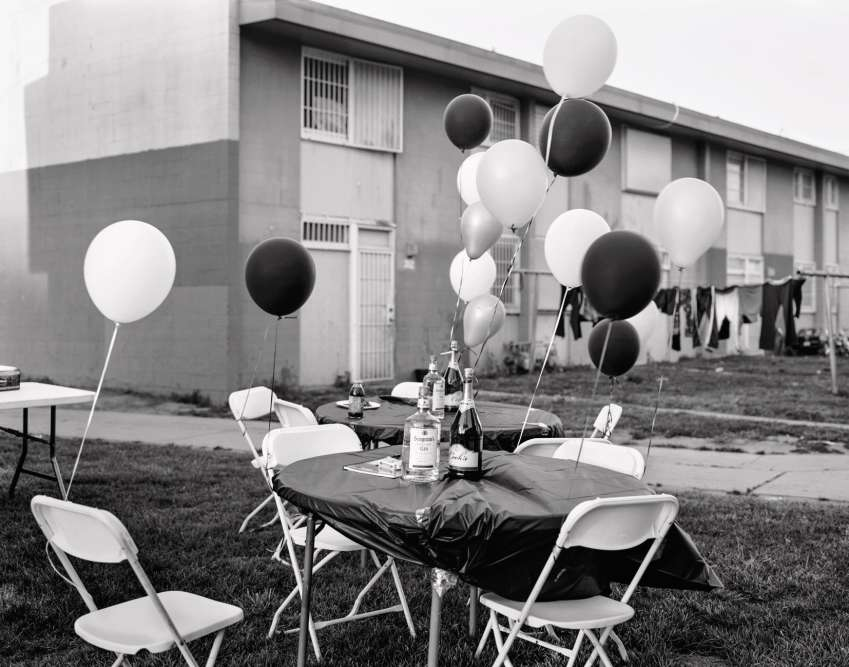 « Untitled (birthday party) », 2009.