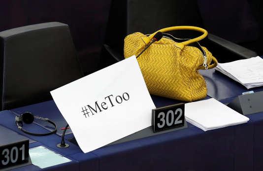 Le mot-dièse #metoo a été utilisé jusqu'au parlement européen à Strasbourg.