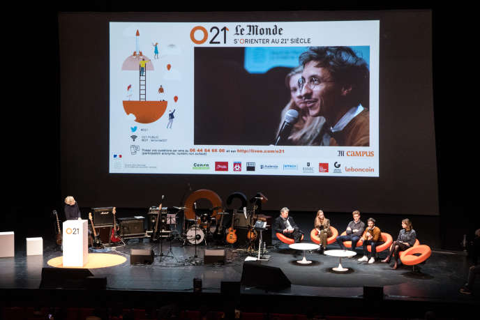 Première édition d'O21 à Cenon, près de Bordeaux, en février 2017.