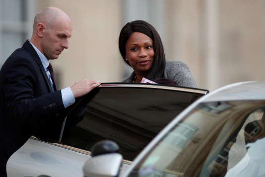 La ministre des sports, Laura Flessel, à l'Elysee à Paris, le 25 octobre.