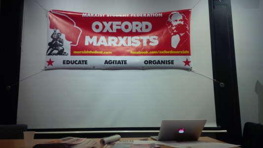 L'une des associations étudiantes d'Oxford.