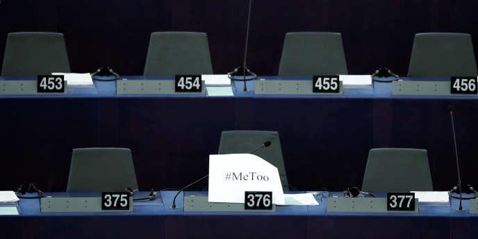 Au Parlement européen, à Strasbourg, le 25 octobre.