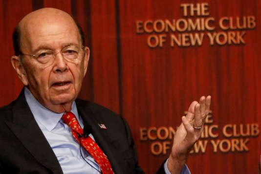 Wilbur Ross, secrétaire d'Etat américain au commerce, le 25 octobre 2017 à New York.