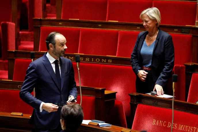 Le premier ministre, Edouard Philippe, le 24 octobre 2017 à l'Assemblée nationale.