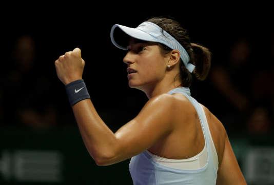 Caroline Garcia est la première Française directement qualifiée pour le Masters depuis Amélie Mauresmo, en 2006.