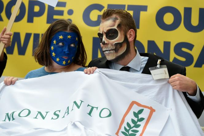 Manifestation des anti glyphosate le 25 octobre à Bruxelles.