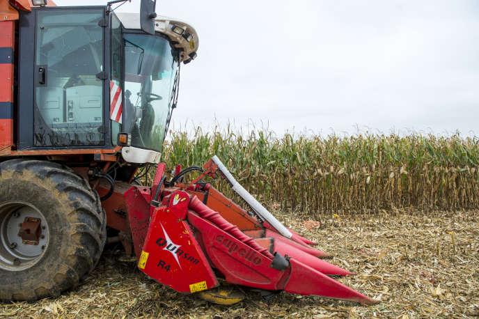 « Pour être « statistiquement » agriculteur, et pour pouvoir faire partie de la MSA, il faut disposer au moins d'un hectare de surface agricole utile» (Photo: Pour «Le Monde», portraits de céréaliers qui témoignent sur leur utilisation, ou non, du glyphosate. Ici, Yves Chantereau, agriculteur dans le Loir-et-Cher).