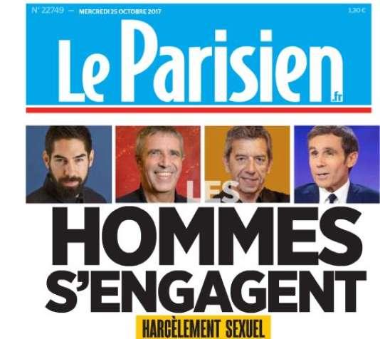 Une du« Parisien» du 25 octobre.